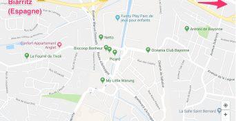 Maps accè confort-appartement
